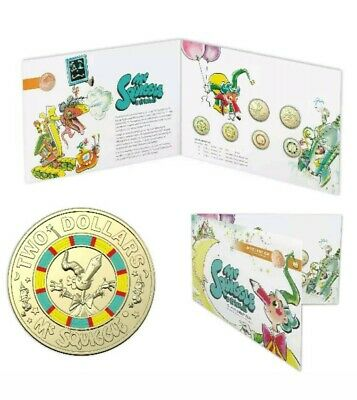 Australia 2019 MR SQUIGGLE - 7 Coin Collection Set incl - 1c Coin