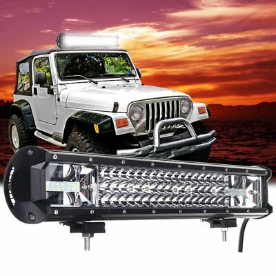 20Inch 540W Cree Led Light Bar Spot Flood Offroad Work Driving Lamp Truck 4WD wD