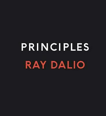 Principles: Life and Work by Ray Dalio (English) Compact Disc Book Free Shipping