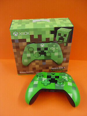 Microsoft Xbox One Wireless Controller - Minecraft Green - Limited Edition