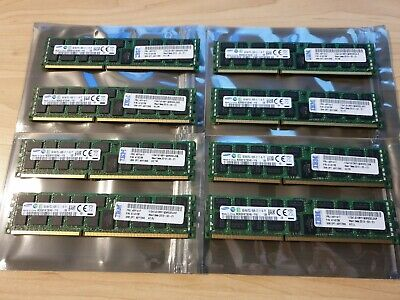 64GB of Server Ram - 8 x 8GB PC3L-8500R DDR3 ECC Samsung IBM FRU 49Y1417
