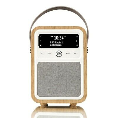VQ Monty Portable DAB+/FM Radio & Bluetooth Speaker in Oak (Refurbished)