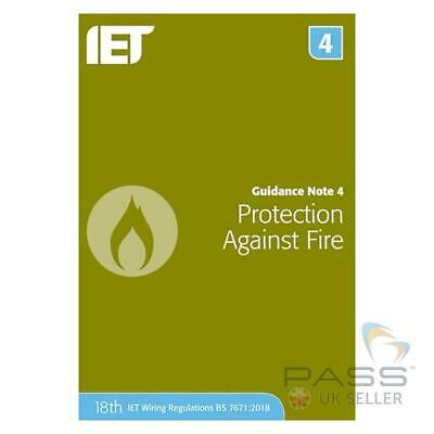 IET Guidance Note 4: Protection Against Fire 8th Edition / Updated for 18th E...