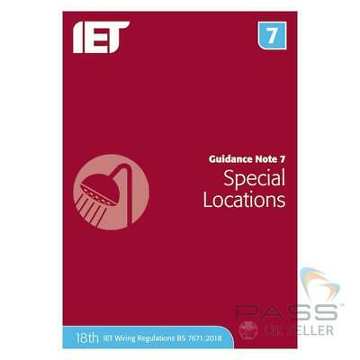 IET Guidance Note 7: Special Locations 6th Edition / Updated 18th Edition