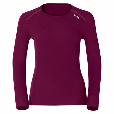 Maillot ODLO Originals Warm Woman, maillot thermique col rond femme.