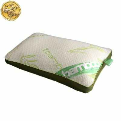 Baffle Box Bamboo Memory Foam Luxury Pillow Neck Head Back Support Anti-Bacteria