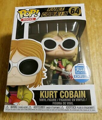 Funko Pop! Rocks - Kurt Cobain with Shades #64 - Funko Shop Exclusive Nirvana