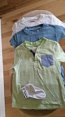 3 Toddler Kids Casual Clothing Tops T Shirts Boy Size 24M (Gymboree)
