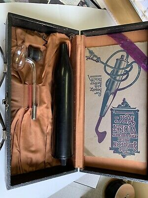 The Shelton high frequency Violet Ray Antique Quack Medical Device