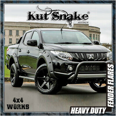 Kut Snake Wheel Arches Fender Flares Mitsubishi L200 & Triton MQ (2015-on)