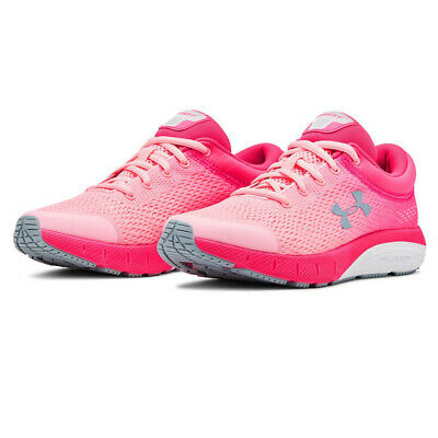 Under Armour Boys GS Bandit 5 Running Shoes Trainers Sneakers - Pink Sports