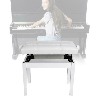 Pro Concert Piano Bench Stool Solid Wood Leather Guzheng Stool Adjustable Height