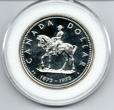 1973 Canada Silver Dollar Proof Like