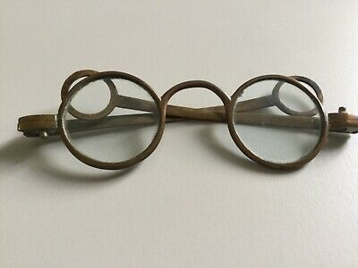 Antique 18th Century Brass Spectacles Very Rare