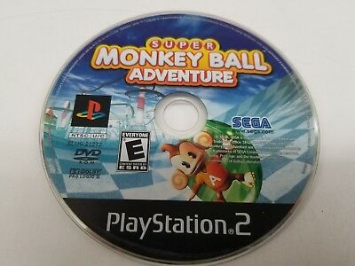 Super Monkey Ball Adventure (Sony PlayStation 2, 2006)*****CD ONLY!******