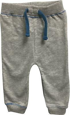 PRE-OWNED Boys Peacocks Grey Cuffed Trousers Size 9-12 Months FS287