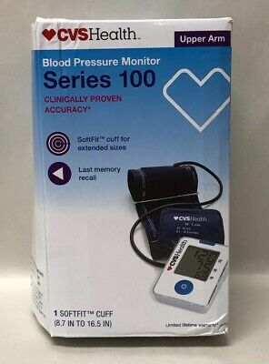 Upper Arm Blood Pressure Monitor Series 100 by CVS Health New in Distressed Box