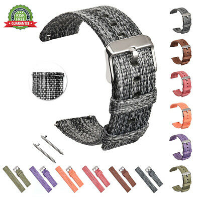 Soft Woven Nylon Watch Band Sport Strap For Samsung Gear S2 S3 16/18/20/22/24mm