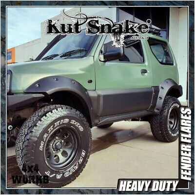 Kut Snake Wheel Arches Fender Flares Suzuki Jimny (1998-08) Monster Wide