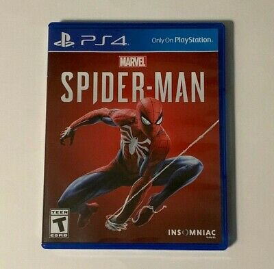 Marvel Spider-Man (PlayStation 4, 2018)