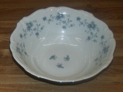 "Johann Haviland Bavaria Germany Blue Garland 8 1/2"" Vegetable Bowl/NEW"