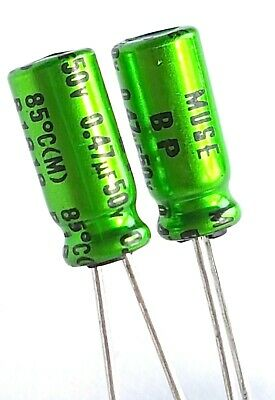 Nichicon MUSE AUDIO UES BP BiPolar Capacitors, many values –ref:965