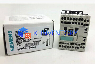 ONE New Siemens 3RT1016-1BB42 CONTACTOR 4KW 400V