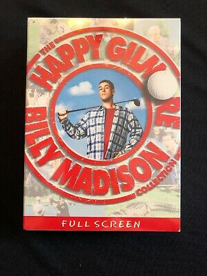 The Billy Madison/Happy Gilmore Collection, 2 Disc DVD Full Screen Adam Sandler