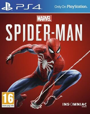 Marvel Spider-Man PS4 Marvel's * NEW SEALED PAL *