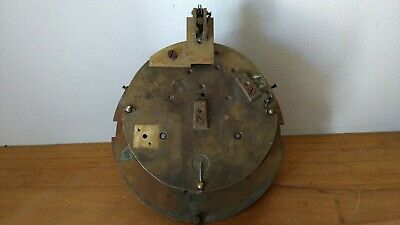 Antique Clock Movement by A D Mougin for Spares or Repair