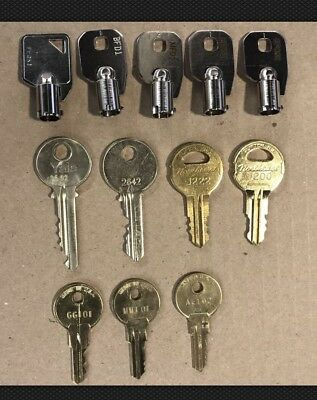 Set of 12 Elevator keys (Sold individually $6.00 Plus Shipping) Contact Seller