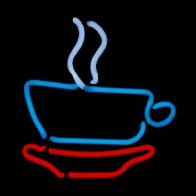 Coffee Cup Neon Sculpture - Free Shipping!