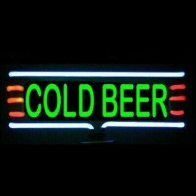Cold Beer Neon Sculpture - Free Shipping!