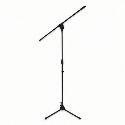 Telescoping Microphone Stand Mic 360-degree Folding Boom Arm Stage Tripod