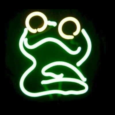 Frog Neon Sculpture - Free Shipping!
