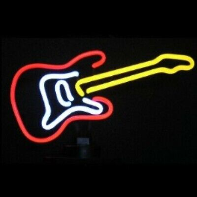 Guitar II Neon Sculpture - Free Shipping!