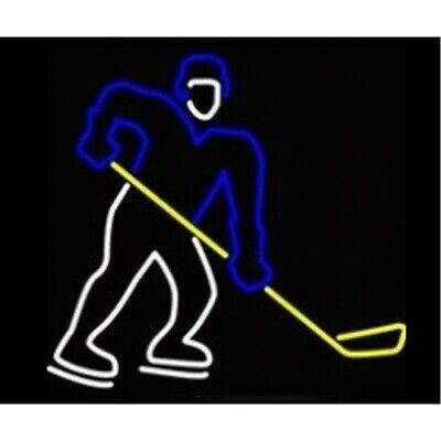 Hockey Player Neon Sculpture - Free Shipping!