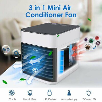 SUMMER ARCTIC AIR Cooler Portable Mini Air Conditioner Cooling Fan  Humidifier