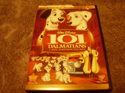 101 Dalmatians (DVD, 2008, 2-Disc Set, Platinum Edition) Animated Disney Classic