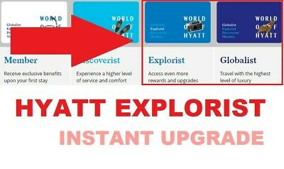 Hyatt Explorist Status Upgrade Feb 2021 + Bonus FREE Samsung EPP account!