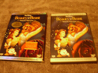 Beauty and the Beast (DVD, 2002, 2-Disc Set, Special Edition) Disney