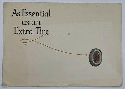 Old Quack Med. Ad Pancrobilin Reed & Carnrick Glandular Therapy Essential Tire
