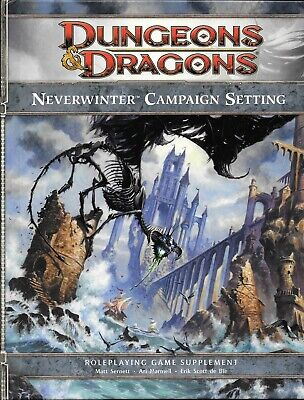 Neverwinter Campaign Setting: A 4th ed Dungeons & Dragons Supplement, OOP WOTC