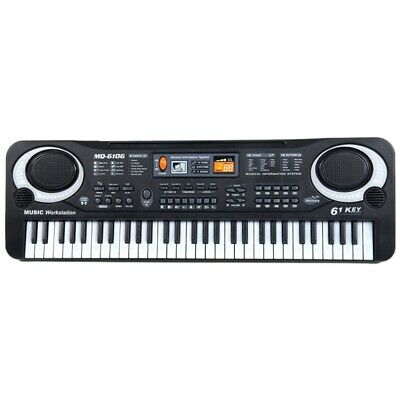 61 Keys Digital Music Electronic Keyboard Board Toy Gift Electric Piano Org E6K7