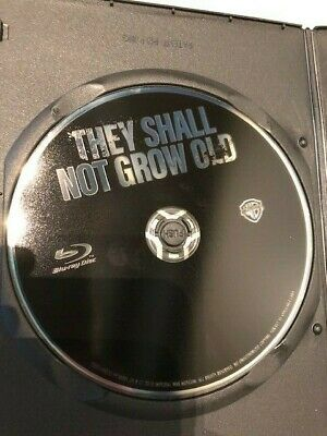 They Shall Not Grow Old Blu Ray Movie 2019 Warner Peter Jackson GENUINE