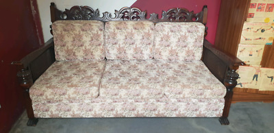 Jacobean 3 piece lounge suite