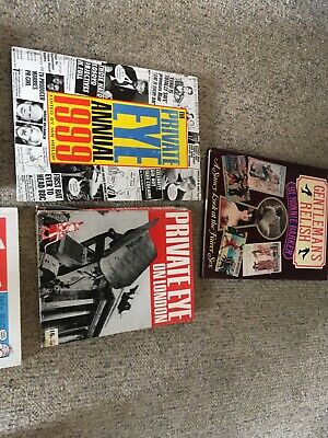 Viz and private eye annuals