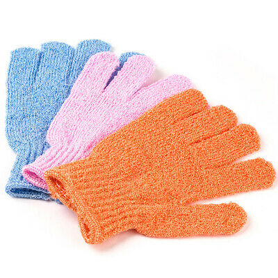 2X(20Pcs Exfoliating Bath Shower Glove For Peeling Exfoliating Glove For Ba U8V6