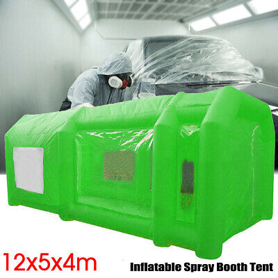 39X16x13ft Gonflable Spray Booth Peinture Tente Portable Voiture Station