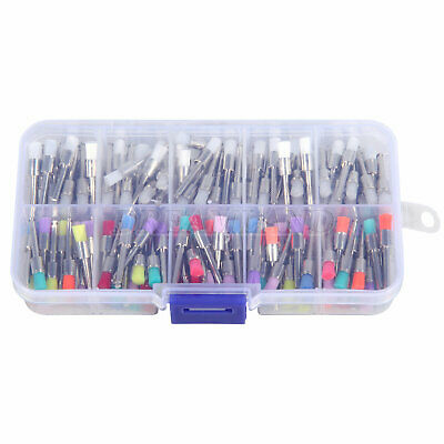 100 PCS Dental Prophy Brush Rubber Disposable Polishing Polisher Latch IE NEW